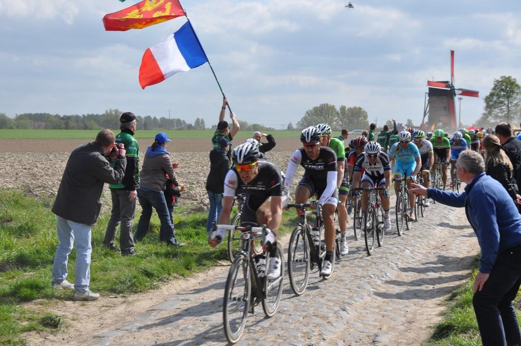 Paris-Roubaix. Ven a La Ciclería a la retransmisión en directo de La Clásica de las clásicas